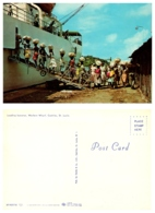 Loading Bananas, Western Whart, Castries, St. Lucis - Saint Lucia