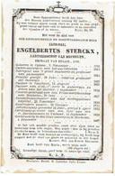 OPPEM / BOECHOUT / MECHELEN - Kardinaal STERCKX Engelb., Aartsbisschop - °1792 En Overleden 1867 - Images Religieuses
