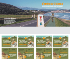 España. Spain. 2020. Los Caminos De Santiago Del Norte Peninsular. Camino De Liébana - 1931-Heute: 2. Rep. - ... Juan Carlos I