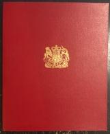 Angleterre - Album Commémoratif - Rêne Elizabeth 2 - 1961 - Case Reali
