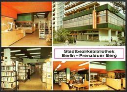 D4951 - TOP Berlin Kinder Bibliothek Prenzlau Prenzlauer Berg - Bild Und Heimat Reichenbach - Prenzlauer Berg