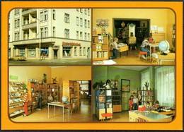 D4952 - TOP Berlin Kinder Bibliothek Willi Bredel Straße - Bild Und Heimat Reichenbach - Unclassified