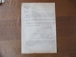 OBERFELDKOMMANDANTUR 670 CHEF DE L'ADMINISTRATION MILITAIRE A/POL LILLE LE 22 SEPTEMBRE 1941 OBJET REMISE D'ARMES - Historische Dokumente
