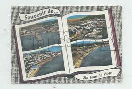 Six-Fours-les-Plages (83)  : 4 Vues Aériennes Générale Dans Livre  Dont Le Nouveau Quartier En 1963 GF. - Six-Fours-les-Plages