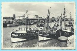 1498 - BELGIE - ZEEBRUGGE - VISSERSHAVEN - Zeebrugge