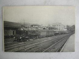 FERROVIAIRE - Locomotive - Réseau De L'Etat - Le Rapide Du Havre Vers 1935 - Machine Pacific N° 231523 à Distrib° Renaud - Trains