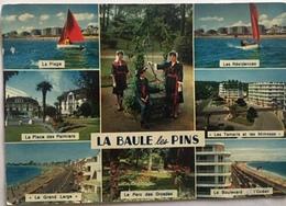 LA BAULE LES PINS - 10 Multivues; Flamme 1978 - La Baule-Escoublac