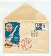 "SPACE COVER USSR 1962 SPACESHIP ""VOSTOK-3"" A.NIKOLAEV SPP LVIV - Covers & Documents"