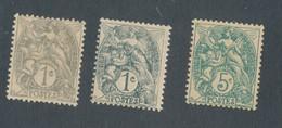 FRANCE - N°107 NEUF** SANS CHARNIERE ET NEUF* AVEC CHARNIERE + 111 NEUF** SANS CHARNIERE - 1900/24 - 1900-29 Blanc