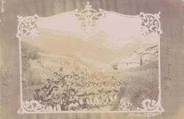 J82 - 05 - LE MÉLÉZIN - Hautes-Alpes - Carte Photo - Groupe De Chasseurs Alpins Lors D'une Halte Au Mélézin 10 Juin 1910 - Altri Comuni