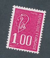 FRANCE - N° 1892b) NEUF** LUXE SANS CHARNIERE SANS BANDE DE PHOSPHORE - 1977 - 1971-76 Marianne De Béquet