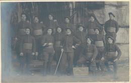 J82 - MILITARIA - Carte Photo - Groupe Des élèves Caporaux Du 158e Régiment D'Infanterie - 11e Compagnie - 1910 - Regiments