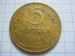 Russia , 5 Kopeks 1948 - Russia