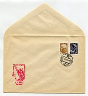 SPACE COVER USSR 1962 5 YEARS FROM DAY OF LAUNCHING THE SECOND EARTH SATELLITE SPP PENZA - Russia & USSR