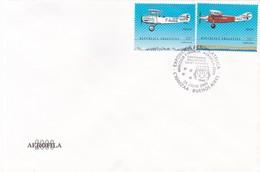 EXPOSICION AEROFILATELICA MERCOSUR Y FRANCIA, AEROFILA 2000, HOMENAJE A ANTOINE DE SAINT-EXUPERY. ARGENTINA FDC -LILHU - Vliegtuigen