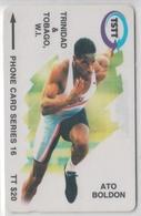 TRINIDAD & TOBAGO 1997 ATHLETICS RUNNING ATO BOLDON - Trinidad En Tobago
