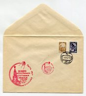 SPACE COVER USSR 1962 5 YEARS FROM DAY OF LAUNCHING THE FIRST EARTH SATELLITE SPP PENZA - Russia & USSR