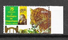 Mexico 1998 MiNr. 2702 Mexiko BIG CATS PREDATORS Jaguar ZOO 1v MNH** 1.60 € - Felini