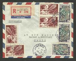 Lettre Recommandée Avion SAMBAVA 15.05.1959 >>> PARIS - Madagascar (1889-1960)