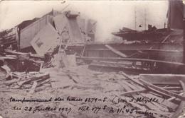 CPA 80 @ CARTE PHOTO à ABBEVILLE - Accident De Train Le 28 Juillet 1927 à 11h45 - Abbeville