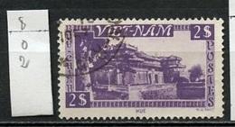 Viet Nam 1951 Y&T N°8 Oblitéré - Used - Gestempelt - Vietnam