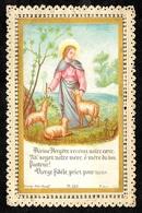 """Image Religieuse """"Divine Bergère, Recevez Notre Coeur..."""" ° Bonamy Pl 120  ** Pieuse 86 Poitiers - Images Religieuses"""