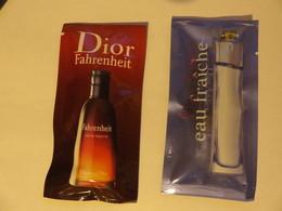 Echantillon , Tube  Sachet Plastique - Parfums - Stalen