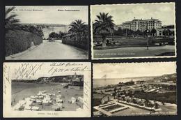 Conjunto De 4 Postais Antigos ESTORIL Costa Do Sol. Set Of 4 Old Postcards (Cascais / Lisboa) PORTUGAL - Lisboa