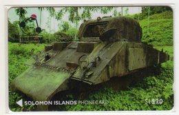 SALOMON REF MV CARDS SOL-02 20$ SHEREMAN TANK CN 01SDAO Date 1992 - Salomon