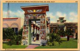 California San Jose Rosicrucian Park Replica Of Egyptian Shrine - San Jose