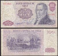 Chile - 100 Escudos Banknote 1983 Pick 152b VG (5)   (12827 - Banknoten