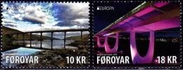 Europa Cept - 2018 - Faroer, Foroyar - (Bridges) ** MNH - 2018