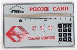 CAP VERT REF MV CARDS CPV-03b 100 U CN 110G Année 1991 5700 Ex  RARE - Kaapverdische Eilanden