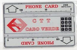 CAP VERT REF MV CARDS CPV-04b 200 U CN 301A Année 1993 - Capo Verde