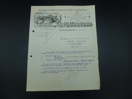 CLERMONT-FERRAND, FABRIQUE DE FRUITS CONFITS, - 1900 – 1949