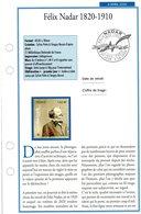 "FR 2020 /  FICHE INFO Recto Verso  ""  FELIX NADAR-bloc + 4 Timbres "" - France"
