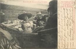 """CPA CAMBODGE """"Nancy, 1906, Entrée De S.M. Sisowath"""" - Cambodge"""