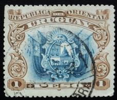 1897 URUGUAY Used - Coat Of Arms Escudo Blason - Yvert 128 - Uruguay