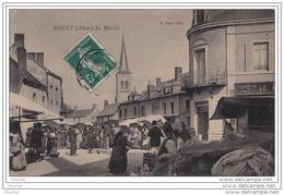 03) DOYET (Allier) Le Marché  - (belle Animation) - Unclassified