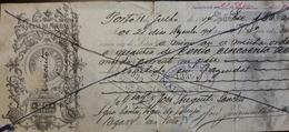 PORTUGAL - Bill Of Exchange / Letra De Câmbio - $20 - 1914 - CAIXA FILIAL DO BANCO DE PORTUGAL PORTO + BORGES & IRMÃO - Wechsel