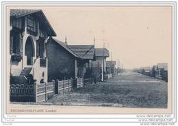40) BISCARROSSE  PLAGE  (Landes)   Rue De La  Plage - ( Villa) - Biscarrosse