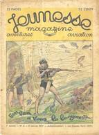 JEUNESSE MAGAZINE 1937 - MAQUETTE PLANEUR JA3, GRANDS EVENEMENTS AERONAUTIQUES DE 1936, ROLAND GARROS, EMILE COHL - 1900 - 1949