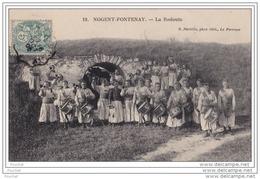 94) Nogent - Fontenay - La Redoute - (belle Animation - Tambour - Clairon) - Nogent Sur Marne