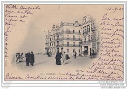 Ostende - Villas - (animée - Oblitération De 1900) - Oostende