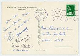 SEINE CP 1977 PARIS OBLITERATION NON REGLEMENTAIRE OMEC *P.P.*PARIS 120 SUR 0,80 BEQUET - 1961-....
