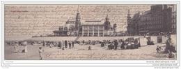 Ostende.- (Belgique) Carte Double Panoramique - ( éditeur Le Bon  à Ostende) - Oostende