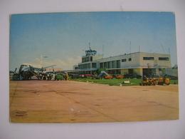 BRAZIL / BRASIL- POST CARD FROM THE SALGADO FILHO AIRPORT IN PORTO ALEGRE / RS IN 196? IN THE STATE - Aérodromes