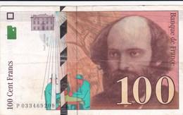 France - Billet De 100 Francs Type Paul Cézanne - 1997 - 1992-2000 Aktuelle Serie