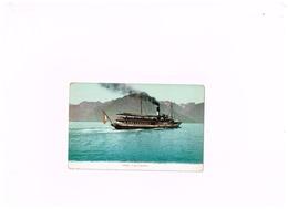 Le Lac Léman.Ferry. - GE Genf