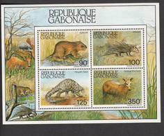 Gabon, 1985, Animals, Set Of 4v, MNH** - Sonstige